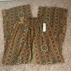 Goody2Shoes Printed Stretch Waist Pants size Small